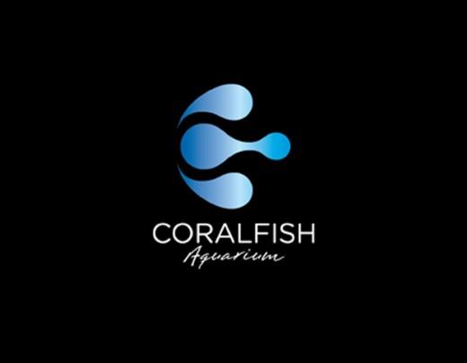 水标志设计图片-珊瑚鱼形水标志设计