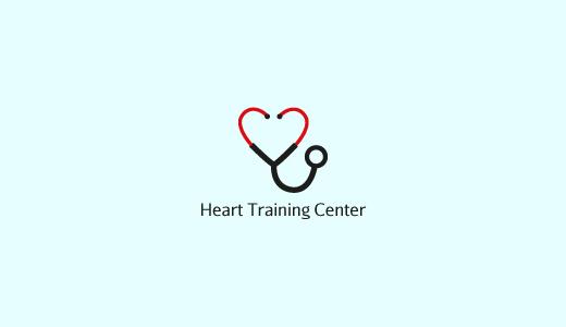 心+听诊器标志设计-上海标志设计公司