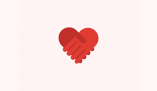 手+心标志设计-上海标志设计公司
