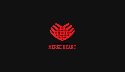 合并心脏标志设计-上海标志设计公司