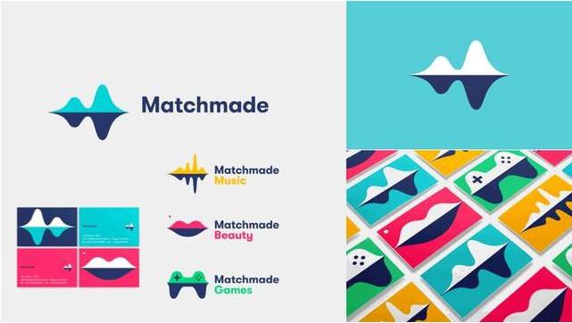 多形态标志logo-Matchmade(智能算法平台)logo设计