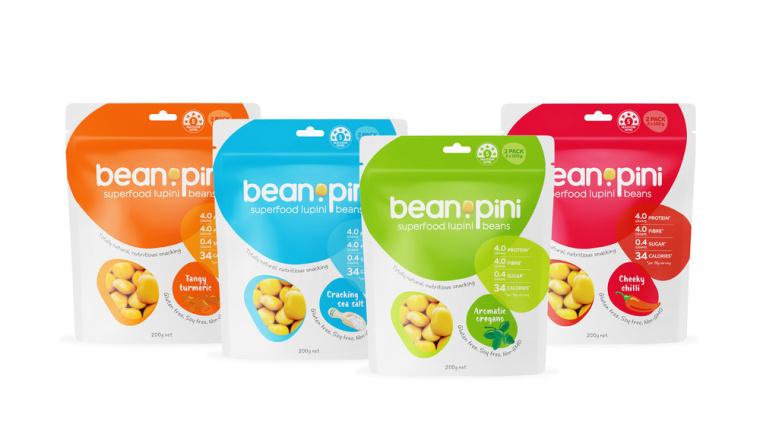 如何设计健康零食包装-颜色 - 充满活力的配色