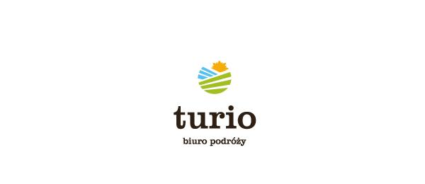 创意太阳logo设计灵感-Turio旅行社