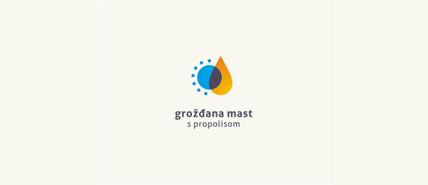 创意太阳logo设计灵感-Lip Balm化妆品标志唇膏