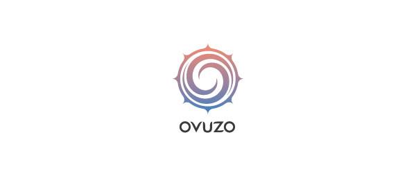 创意太阳logo设计灵感-Ovuzo