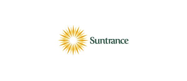 创意太阳logo设计灵感-Suntrance放射太阳logo