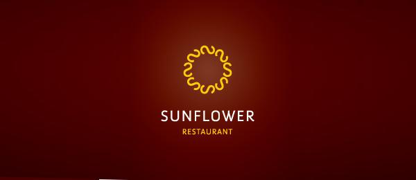 创意太阳logo设计灵感-太阳花