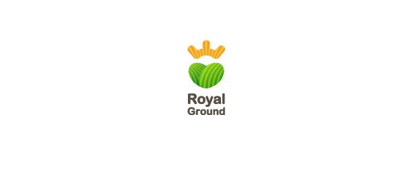 创意太阳logo设计灵感-皇家地面