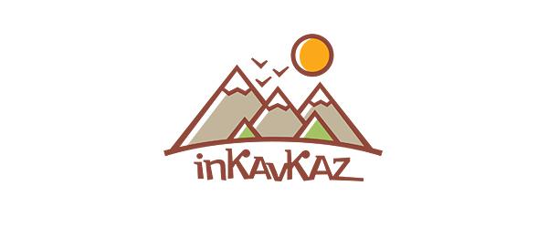 创意太阳logo设计灵感-旅行社在Kavkaz