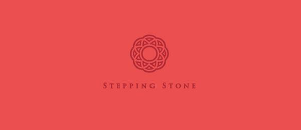 创意太阳logo设计灵感-踏脚石