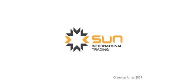 创意太阳logo设计灵感-太阳