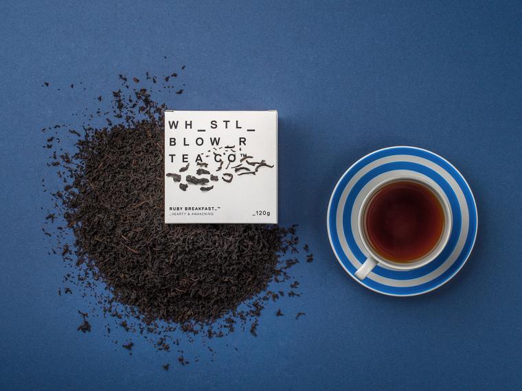 Whistle Blower Tea Co.的茶叶包装设计-上海包装设计公司