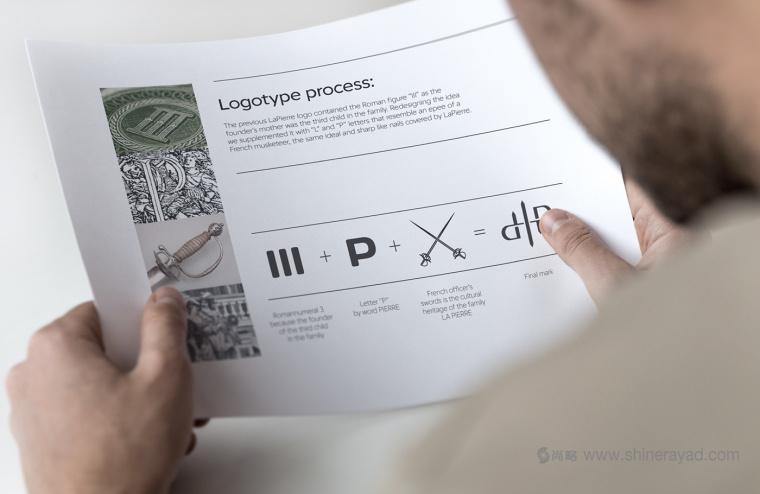 LaPierre 指甲油品牌logo设计-上海logo设计公司