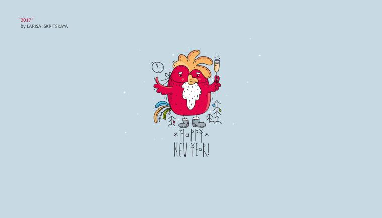 上海尚略logo设计公司分享30个为2017年鸡年创作的鸡元素logo设计创意作品