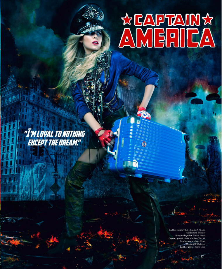 "DESENO拉杆箱""女子超级英雄""系列平面广告海报创意万博网页版手机登录欣赏-美国队长"