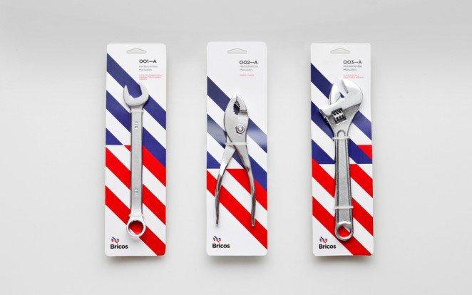 上海包装设计公司分享-50个令人惊叹的疯狂创意包装设计案例-使用图案-五金工具包装设计