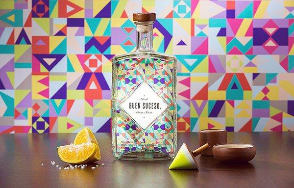 上海包装设计公司分享-50个令人惊叹的疯狂创意包装设计案例-大胆-多彩龙舌兰酒包装设计