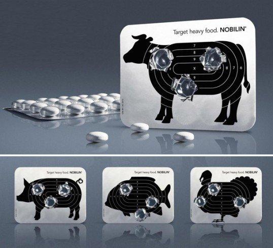 上海包装设计公司分享-50个令人惊叹的疯狂创意包装设计案例-消化药药品包装设计