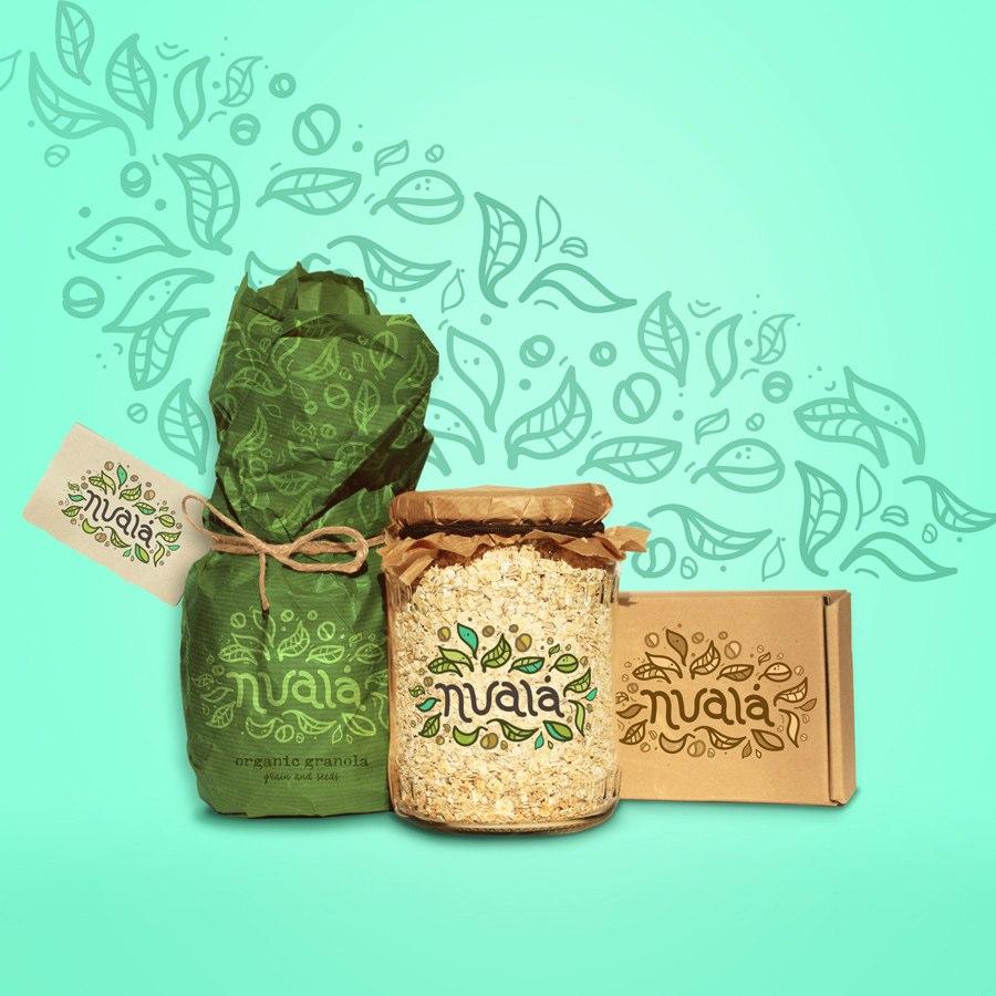 有机燕麦 - 品牌logo+包装设计-上海包装设计公司