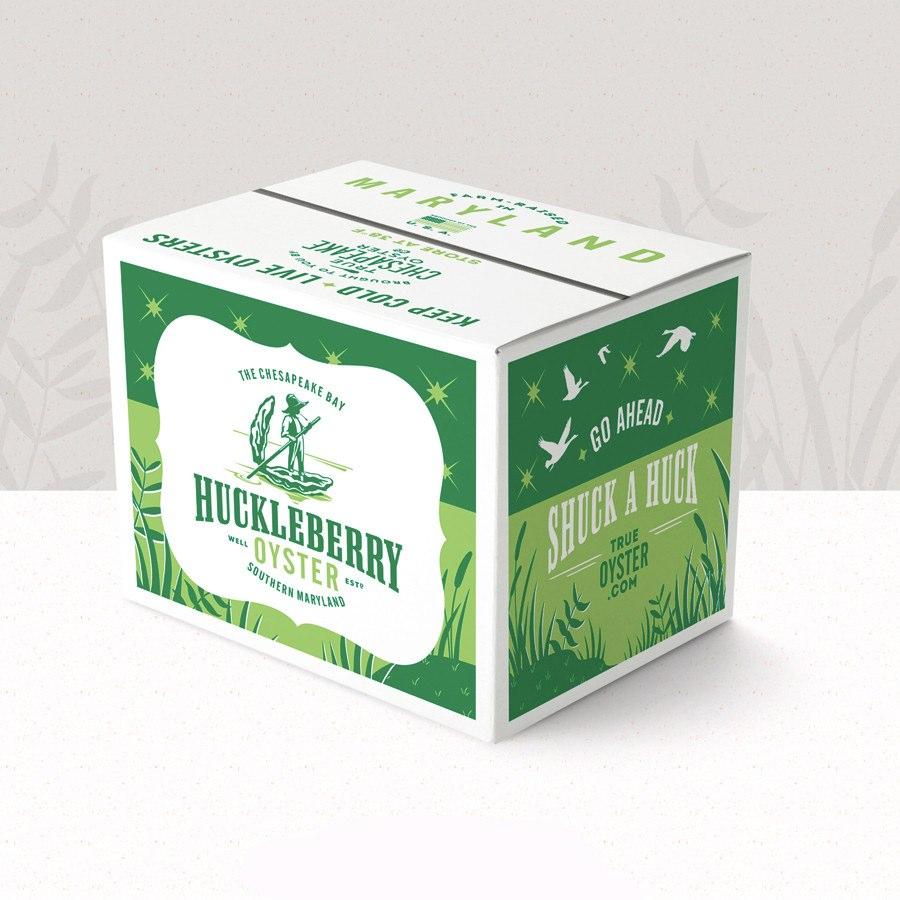 牡蛎盒包装设计-上海包装设计公司