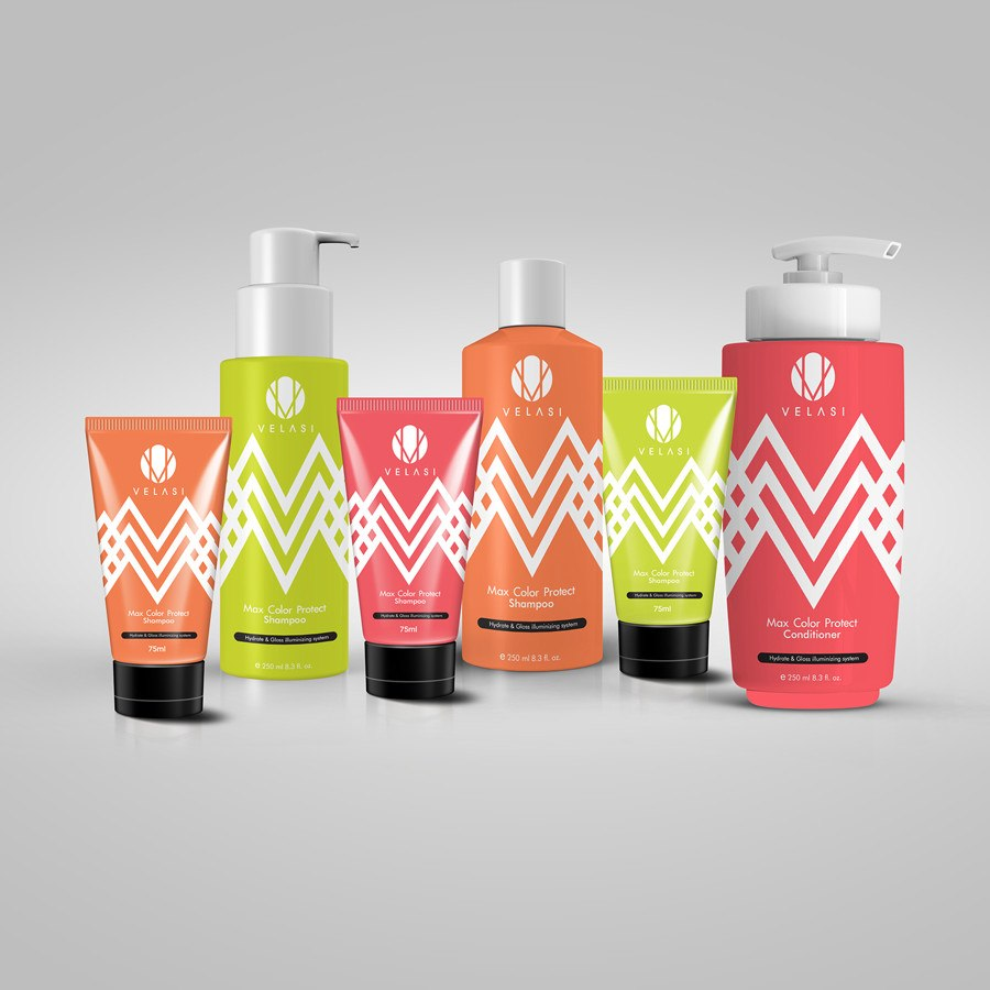 VELASI美发美容产品包装设计-上海包装设计公司