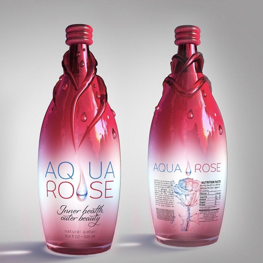 植物饮料3D瓶型设计和标签设计-上海包装设计公司