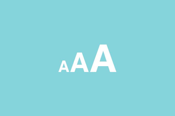 网站字号大小设计影响网站营销效果-上海网站设计建设公司