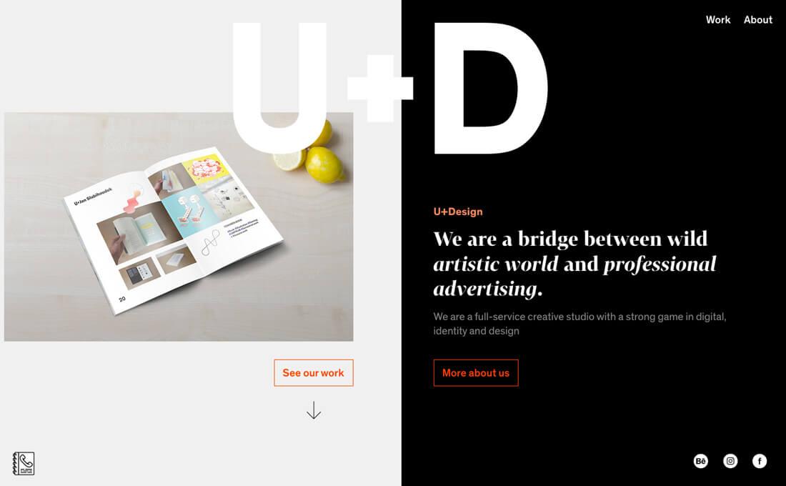 U +设计公司网站设计-上海网站设计公司