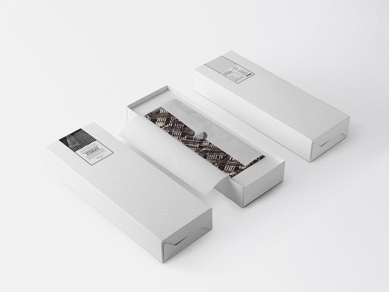 Noble房地产开发商食品礼盒礼品套装包装设计,源自建筑的设计灵感