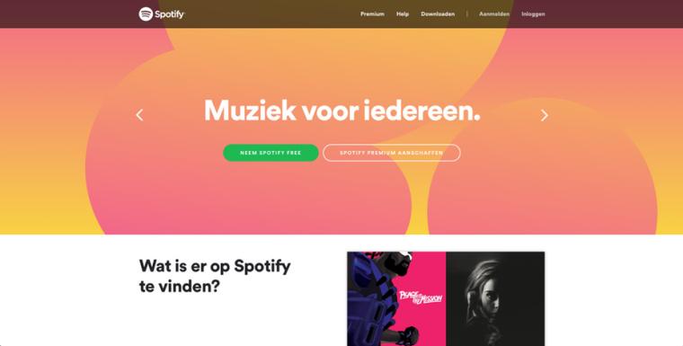 2018年9個最前沿的網頁設計趨勢-充滿活力,飽和的配色方案