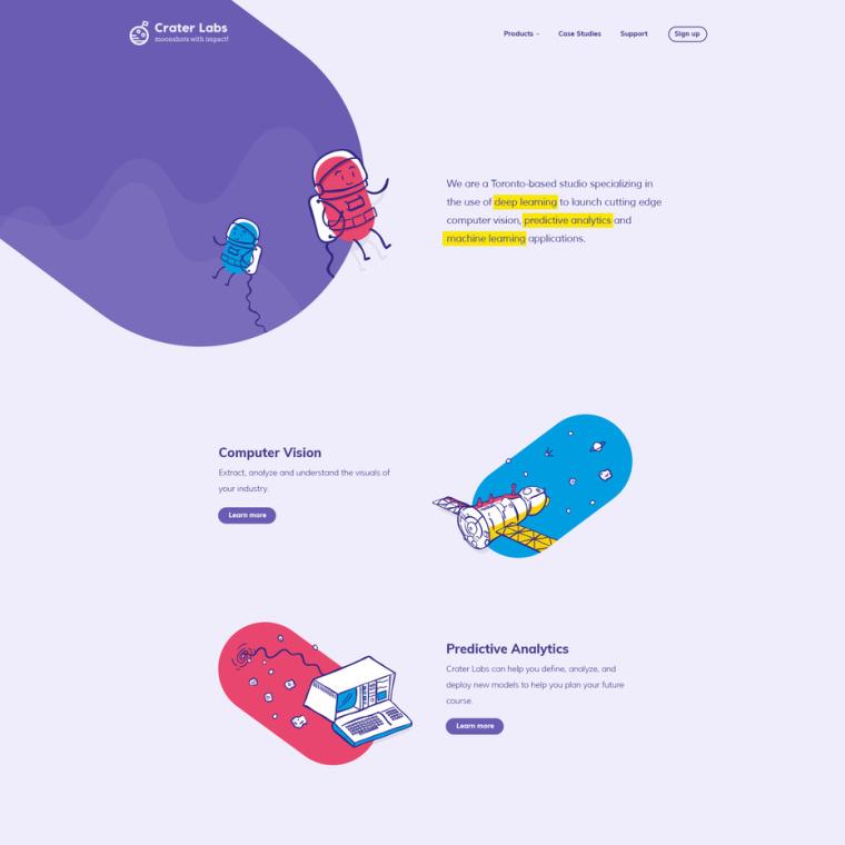 2018年9个最前沿的网页设计趋势-个性化插图