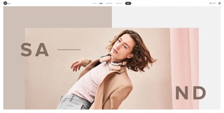 2018年9个最前沿的网页设计趋势-不对称和破损的网格布局