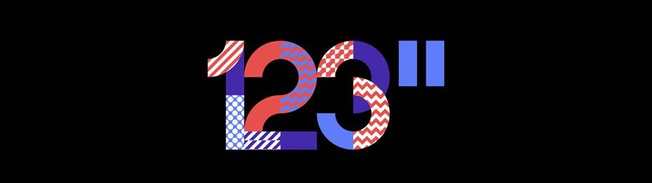2018年9个创新的标志设计趋势-分层和掩盖图案和颜色
