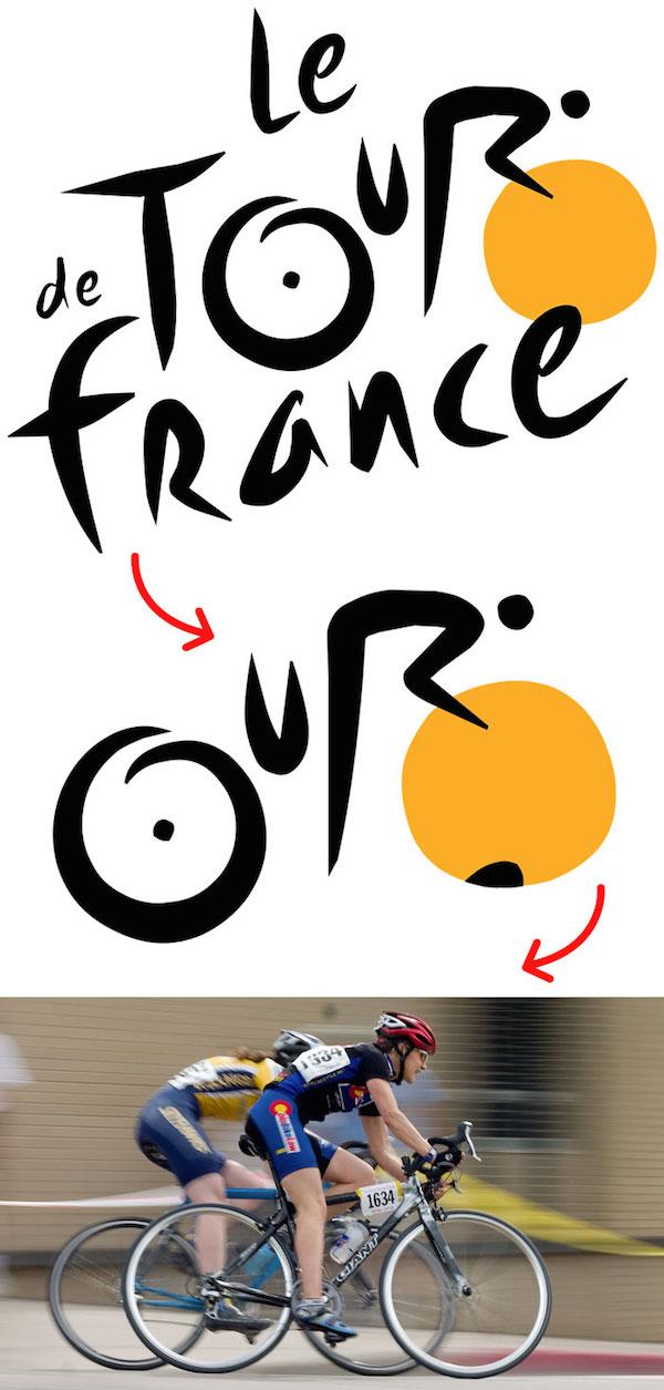 Le环法自行车赛logo—标志创意释义—上海logo设计公司logo培训