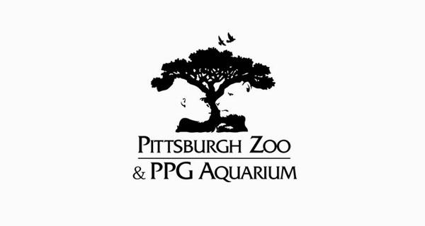 Pittsburgh zoo 匹兹堡动物园logo设计—标志创意释义—上海logo设计公司logo培训