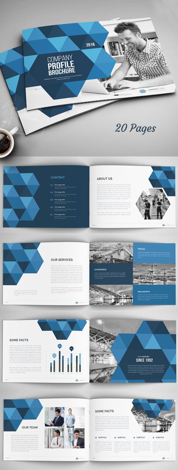 上海画册设计公司创意画册-20页年度报告/公司简介宣传册设计模板