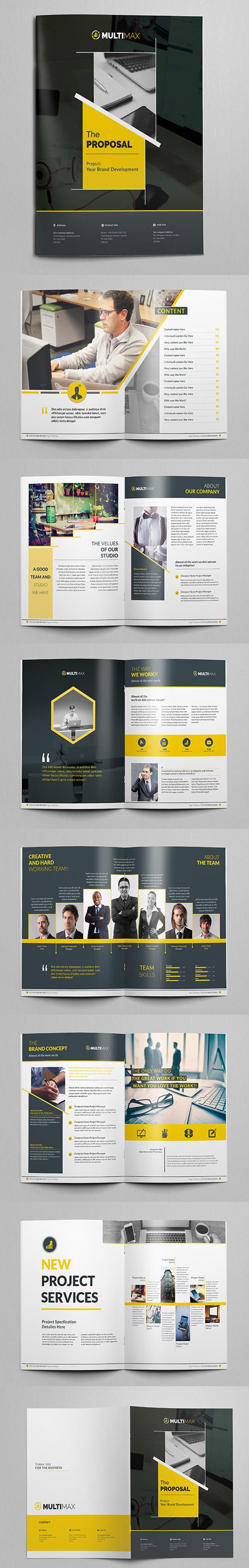 上海画册设计公司创意画册-现代商业建议宣传手册/目录设计