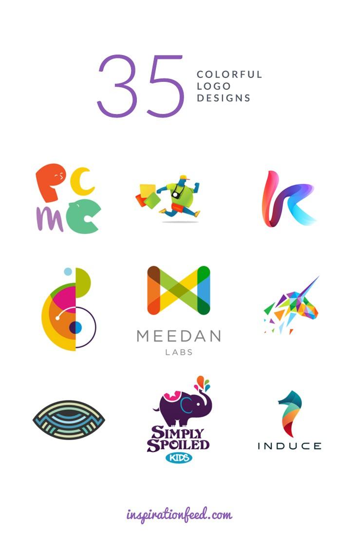 35个令人惊叹的多彩彩色logo设计的例子-上海logo设计公司设计欣赏