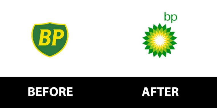 BP石油logo重塑设计-上海logo设计公司logo设计教程