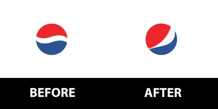百事logo重塑设计-上海logo设计公司logo设计教程