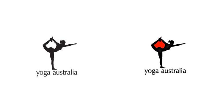 澳大利亚瑜伽logo设计--上海logo设计公司logo设计教程