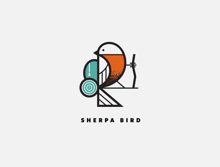 鸟儿logo-50个让你灵思泉涌的炫酷logo设计-上海logo设计欣赏