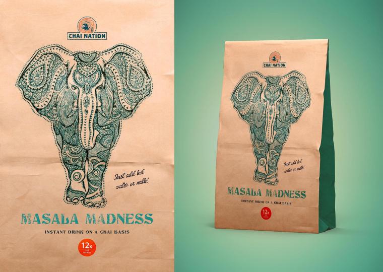 CHAI TEA 茶叶包装设计-上海包装设计公司