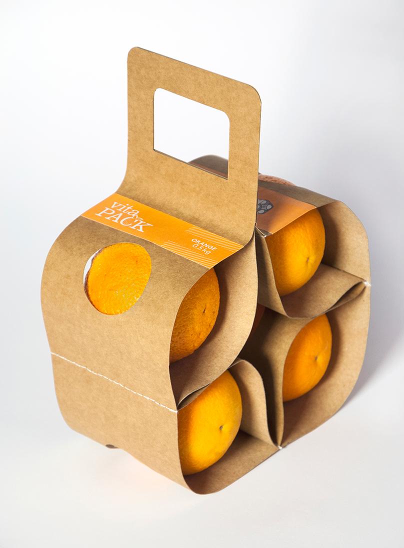 VitaPack便于携带0.5公斤橘子水果包装万博网页版手机登录-上海农产品包装万博网页版手机登录公司