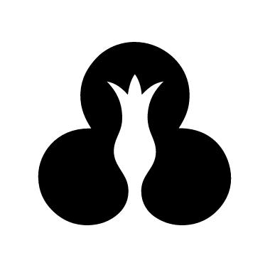 创意花朵标志设计欣赏 flower logo design-上海logo设计公司