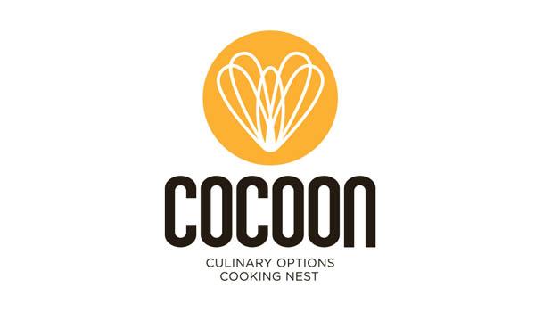 COCOON餐饮公司蜜蜂logo设计-上海logo设计公司