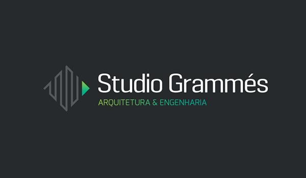 Studio Grammes建筑工程公司logo设计-上海logo设计公司