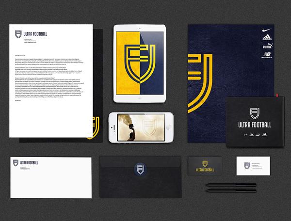 澳大利亚ACRD超级足球运动体育品牌logo设计与视觉识别VI设计-上海VI设计公司