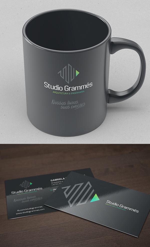 Studio Grammes建筑工程公司VI视觉识别设计-上海VI设计公司