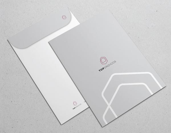 TOPSINDICOS 办公文具公司logo设计与视觉识别VI设计-上海VI设计公司